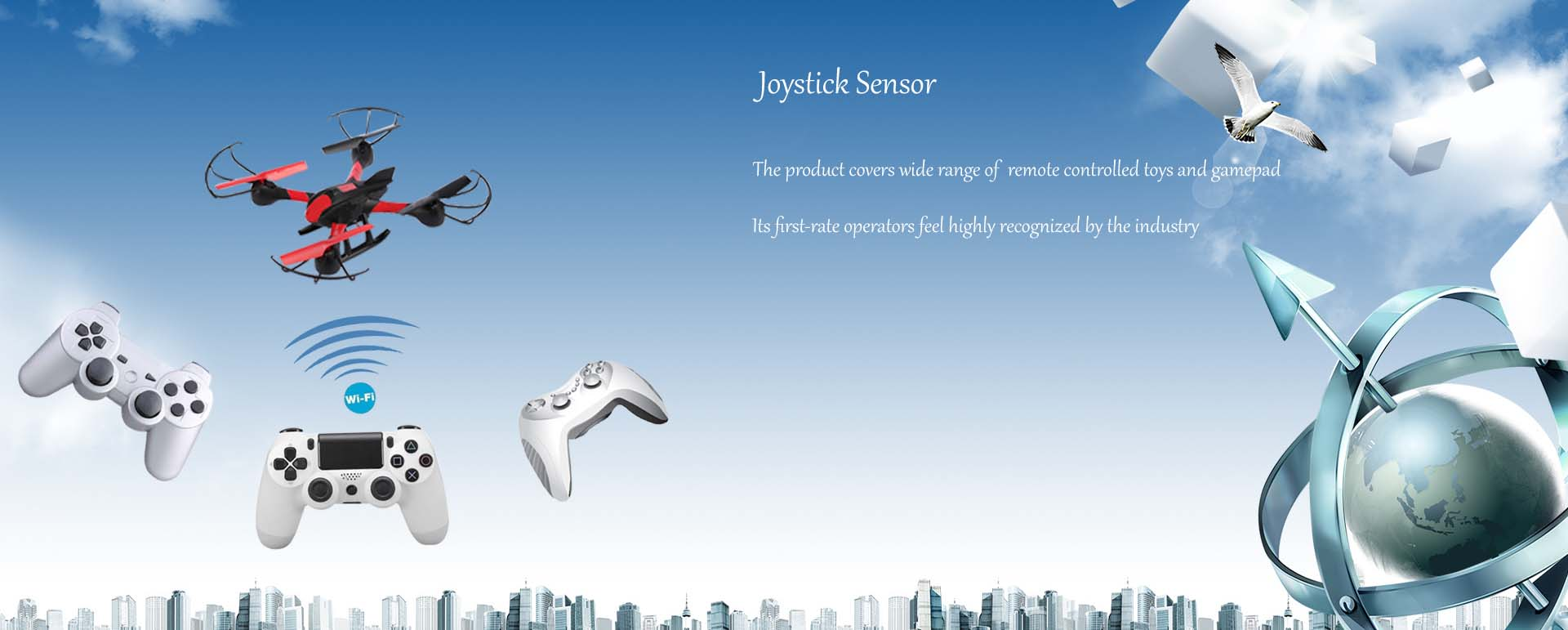 joystick sensor[0000-00-00 00:00:00]&#13The product covers wide range of  remote controlled toys and gamepad